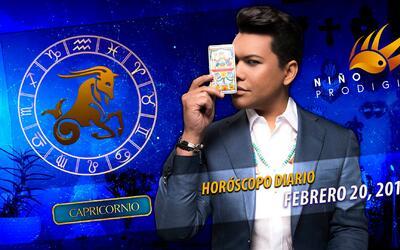 Niño Prodigio - Capricornio 20 de febrero, 2017