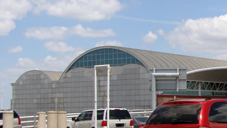 Terminal A del Aeropuerto Internacional de San Antonio.