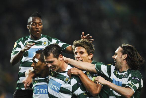Un gol de Anderson Polga bastó para que el Sporting se impusiera por 1-0.