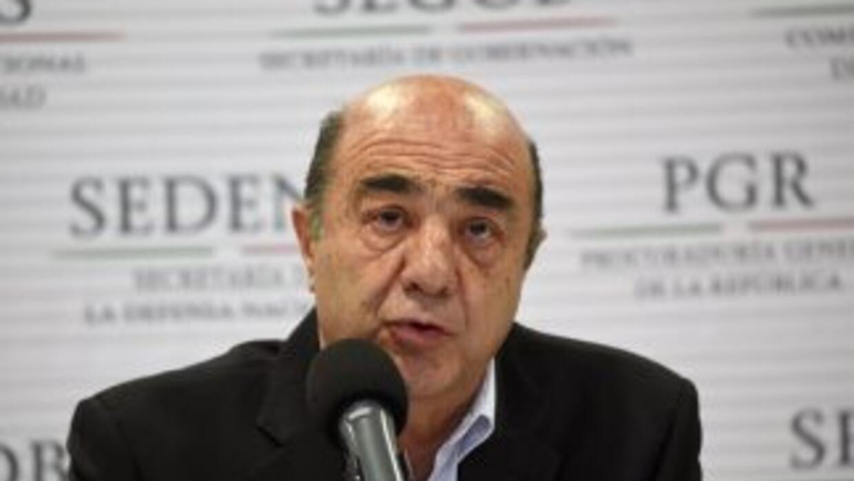 Jesús Murillo Karam,procurador general de la República.