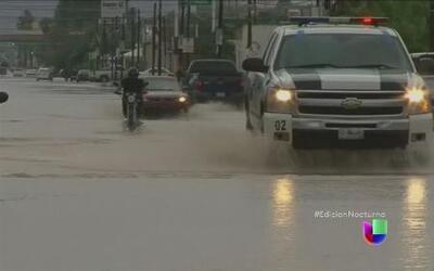 La tormenta tropical Odile tocó tierra en Sonora
