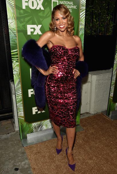 Stacey Dash no se ganó las mejores críticas con su look.