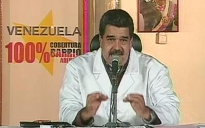 """Maduro a líder opositor Henrique Capriles: """"tiene que ir a la cárcel, ir..."""