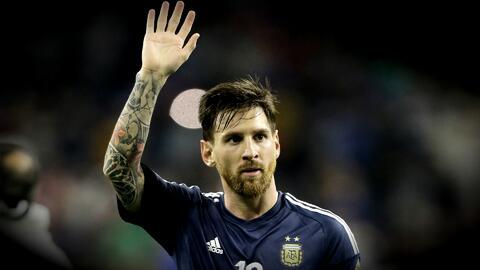 Lionel Messi continuará en la Selección Argentina, envió un comunicado d...