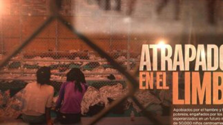 Portada del especial de La Huella Digital sobre los niños de la frontera.