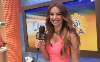 Ximena Córdoba no podía dormir de los nervios en su primer día en Despierta
