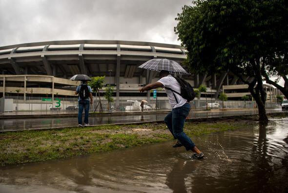 En ese entonces se despertaron dudas sobre si el estadio estaría listo p...