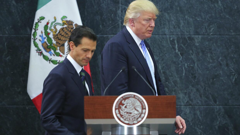 Enrique Peña Nieto admite que su reunión con Donald Trump pudo haberse m...