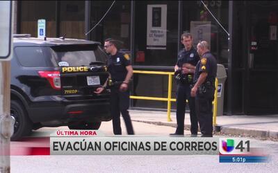 Evacuan oficinas de correos por amenaza de bomba
