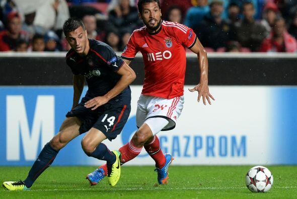 Finalmente, el Benfica rescató un empate con el Olympiakos al igualar 1-1.