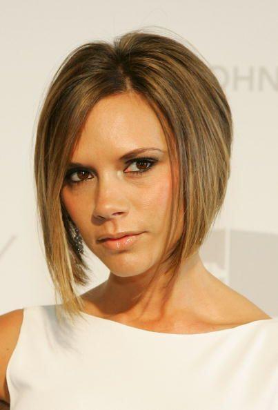 ¡El liso perfecto de Victoria Beckham le da un toque súper sofisticado e...