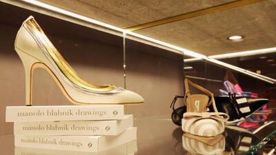 El calzado de las famosas se venderá enlos almacenes Harrods y Liberty