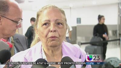 La opositora cubana Marta Beatriz Roque ya está en Miami