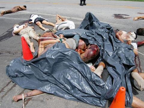 .El presidente de México, Felipe Calderón, reconoció que la violencia de...