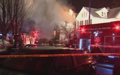 Seis niños desaparecidos tras un voraz incendio en una casa de Maryland