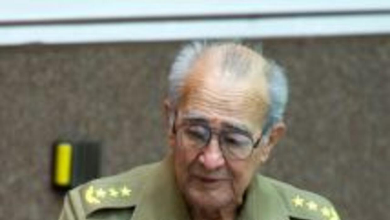 El ministro de las Fuerzas Armadas Revolucionarias y vicepresidente del...