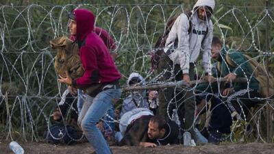 Crisis migratoria en Hungría