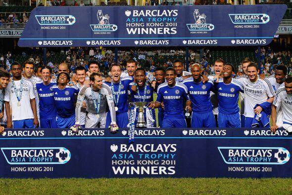 Aparece uno de los amplios favoritos al título desde hace años: Chelsea....