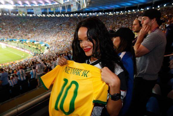 Los dos se citaron para ver la final de la Copa Mundial. Mira aquí los v...