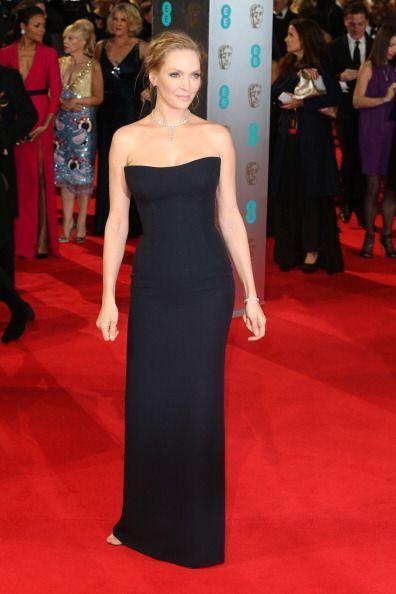 La actriz Uma Thurman se sumó al clan de las chicas 'azuladas' con este...