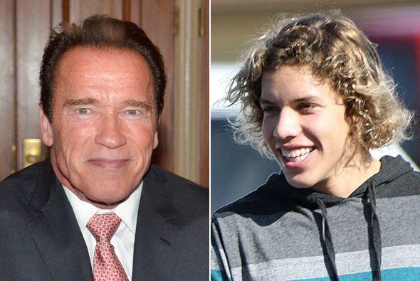 El hijo que tuvo Schwarzenegger con su ama de llaves, Mildred Baena, ya...