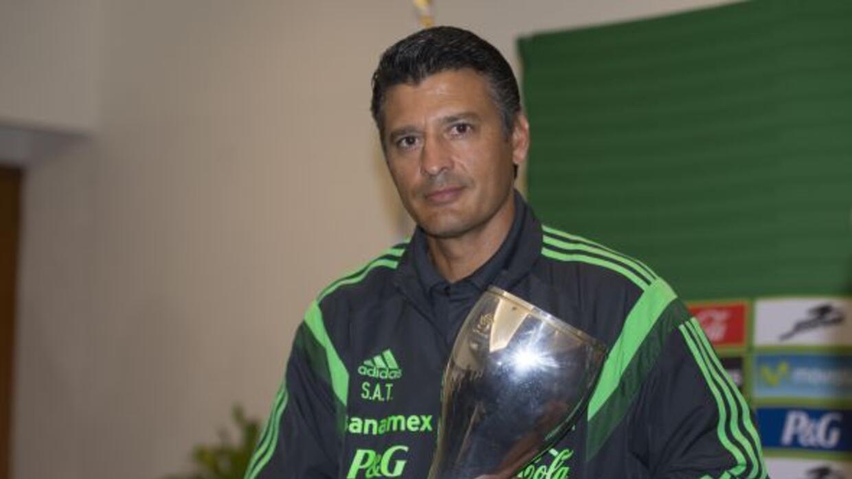El entrenador de la selección mexicana juvenil quiere seguir cosechando...