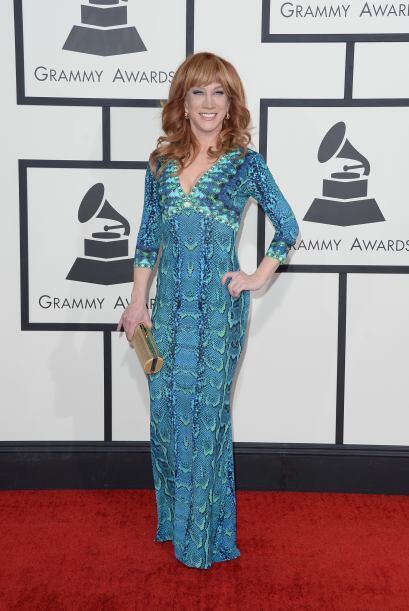 Uno de los vestido más horrorosos fue el de Kathy Griffin, ¿o nos van a...