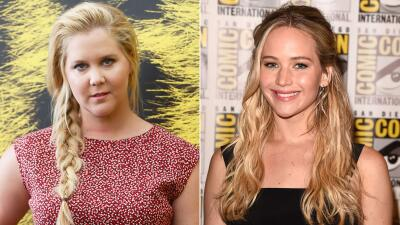 Amy Schumer y Jennifer Lawrence