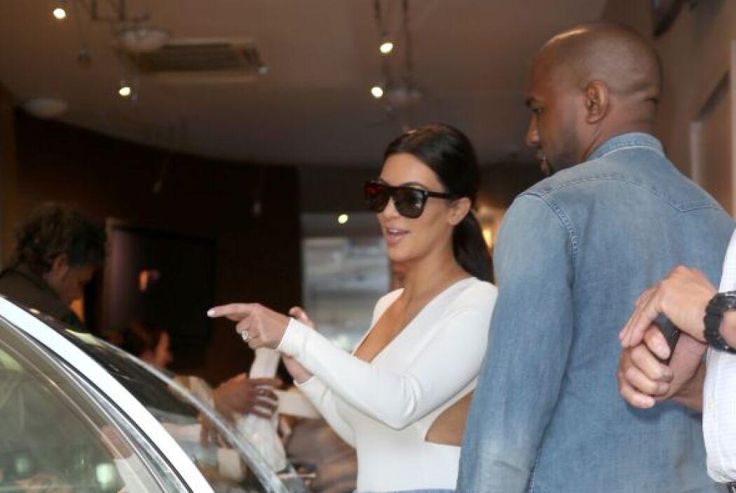 Kim ya se decidió por su postrecito. Mira aquí lo último en chismes.