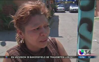 Madre ruega por justicia para su hijo en LA