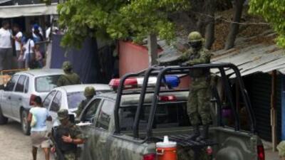 Elementos del Ejército mexicano.