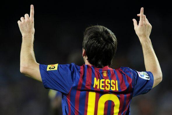 Messi quería más y lo logró. Puso el 5 a 0 antes del final del primer ti...