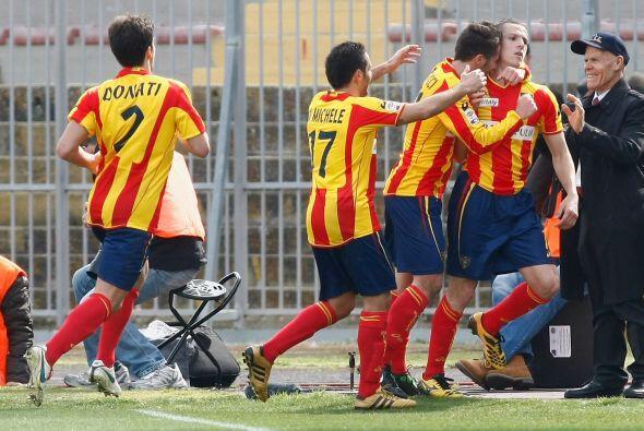 Y Andrea Bertolacci volvió a anotar en favor del Lecce al 48'.