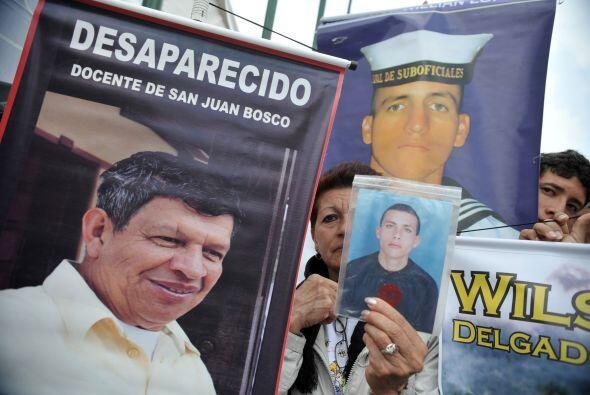 Secuestrada en 2002 junto a la ex candidata presidencial Ingrid Betancou...