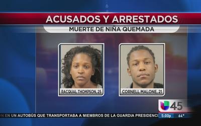 Dos personas enfrentan cargos tras muerte de bebé