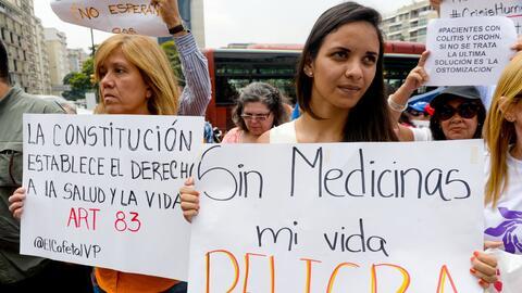 salud medicina escasez venezuela