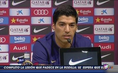Luis Suárez le agredece al Barcelona por hacerle cumplir un sueño