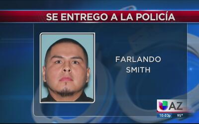 Se entrega profugo de las autoridades que atropelló a un hispano