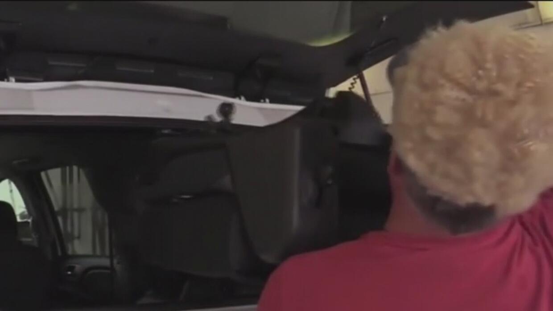 Crece el robo de asientos de las camionetas deportivas de lujo en Grapevine