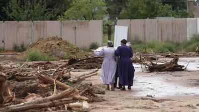 Severas inundaciones ponen en alerta a Utah