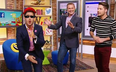 Cuidado, Ana Patricia: Rodolfo Landeros también sabe cantar reggaetón
