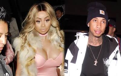 Rapero Tyga podría quedar exhibido en video sexual con Blac Chyna