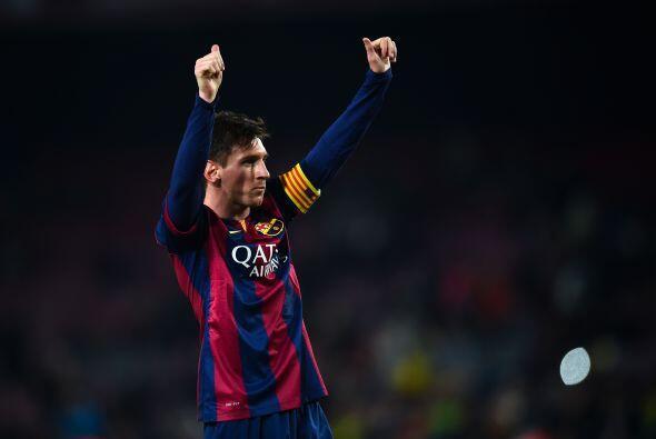 Lionel Messi, el argentino encabezó la ofensiva del Barcelona con anotac...