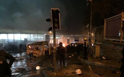 Explosión en el estadio del Besiktas en Turquía