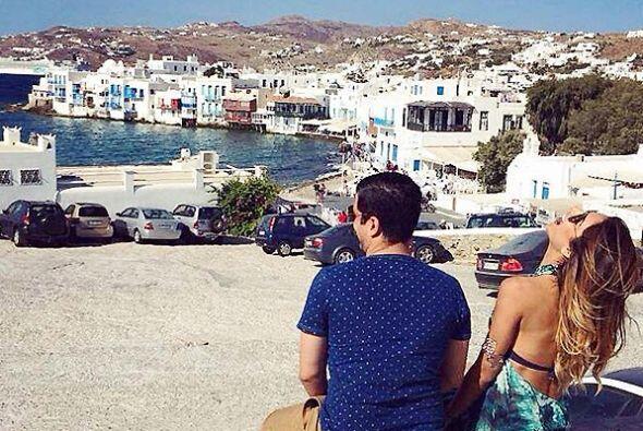 Su viaje por Grecia resultó ser mágico y maravilloso para Ale.