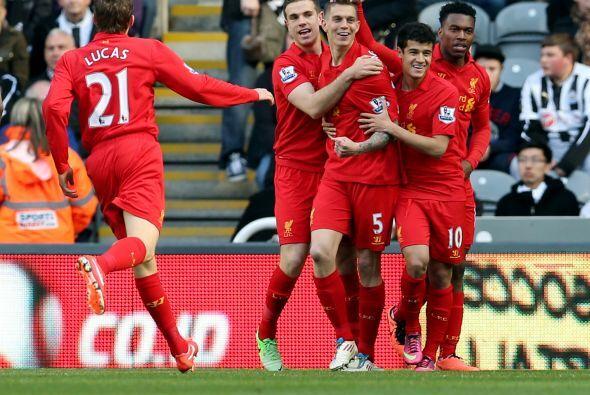 Los 'Reds' no mostraron piedad alguna ante el Newcastle al derrotarlo po...