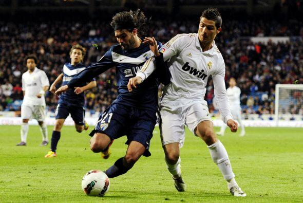 Pero Cristiano Ronaldo vivía su eterno duelo personal en busca de goles...