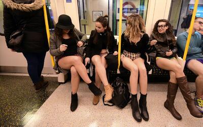 ¿Viajaría sin pantalones en el Metro de Los Ángeles? Este 8 de enero es...