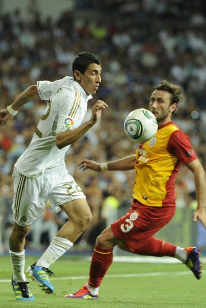 Angel Di María era de los futbolistas con mayor disposición.