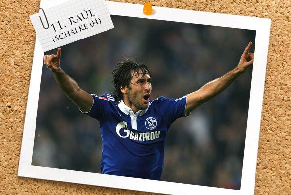 Finalmente, el español Raúl González parece que, co...